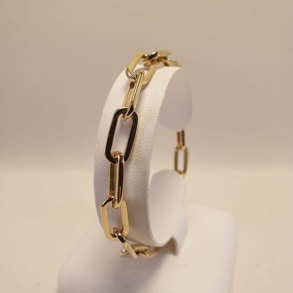 14 karaat goud close for ever armband