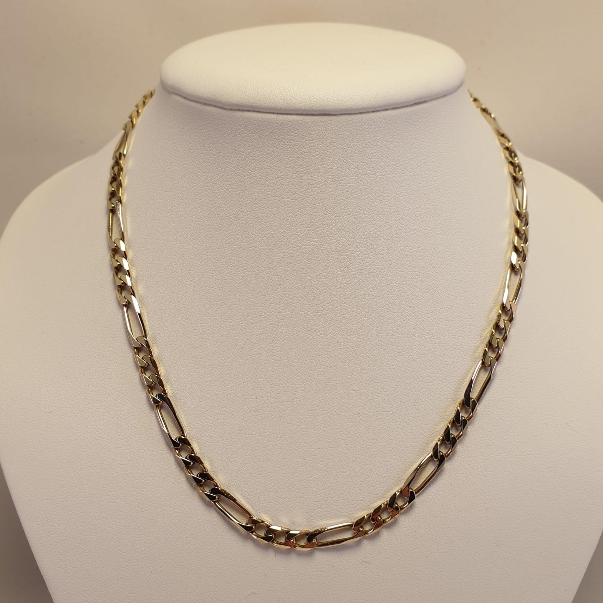 Fonkelnieuw 14 Karaats gouden heren collier | Juwelier Vuyk | Den Haag ZV-53