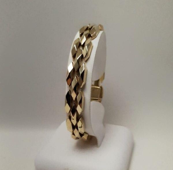 14 karaat gouden armband
