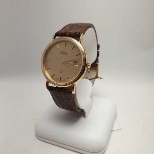 14 karaat gouden heren horloge
