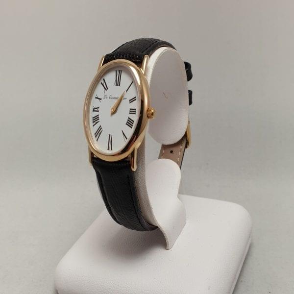 14 karaat gouden dames horloge quartz le comte d or