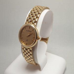 14 karaat gouden dames horloge nieuw panthere band