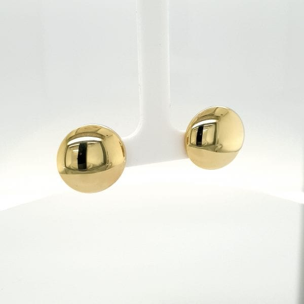 14 karaat gouden clip oorbellen oor sieraad juwelier tweede hands occasion vintage
