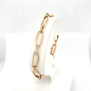 14 karaat gouden closeforever lapide schakel armband vintage tweede hands occasion juwelier den haag