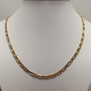18 karaat 50 cm collier heren vintage occasion tweede hands juwelier den haag