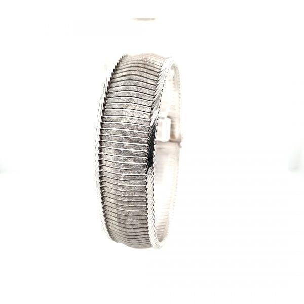 14 karaat wit gouden armband vintage tweede hands ocassion juwelier den haag mariahoeve