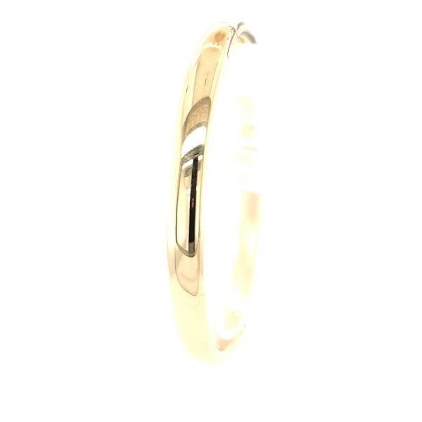 14 karaat gouden slavenband bangle vintage tweedehands ocassion juwelier den haag mariahoeve