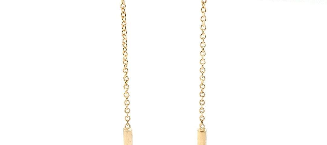 14 karaat gouden oorhangers excellent jewelry juwelier den haag