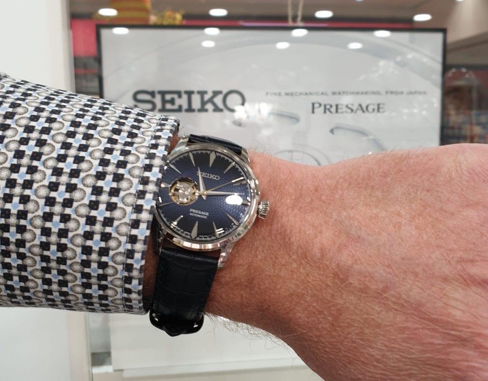 seiko heren horloge automaat juwelier den haag