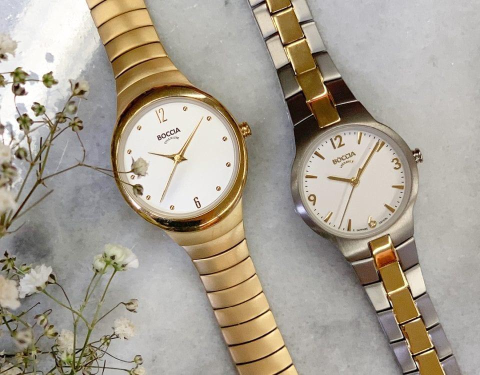boccia dames horloge titanium juwelier denhaag