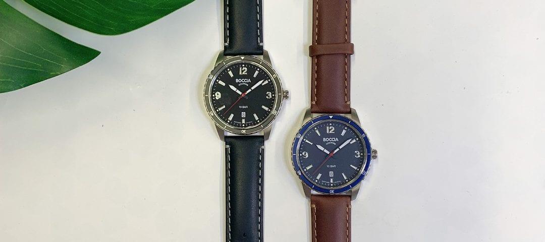 boccia horloge titanium juwelier denhaag