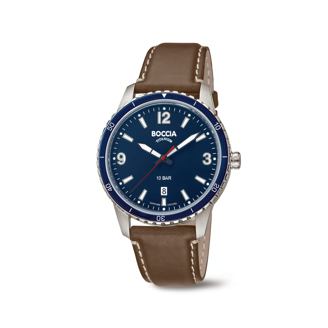 Boccia heren horloge titanium juwelier den haag