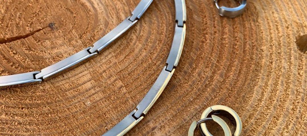 boccia armband titanium jewels juwelier den haag