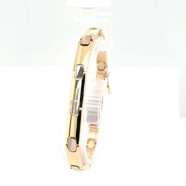14 karaat bicolor gouden armband vintage tweede hands occasion juwelier den haag