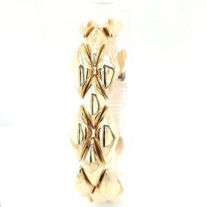 14 karaat gouden armband vintage tweede hands occasion juwelier den haag voorburg leidschendam