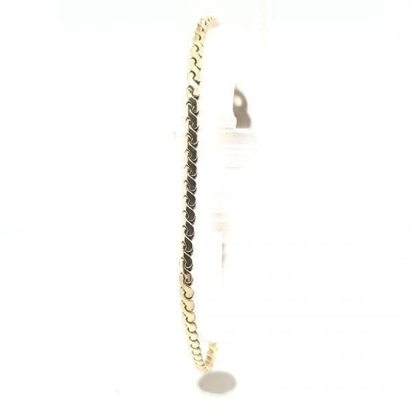 14 Karaat Gouden armband.