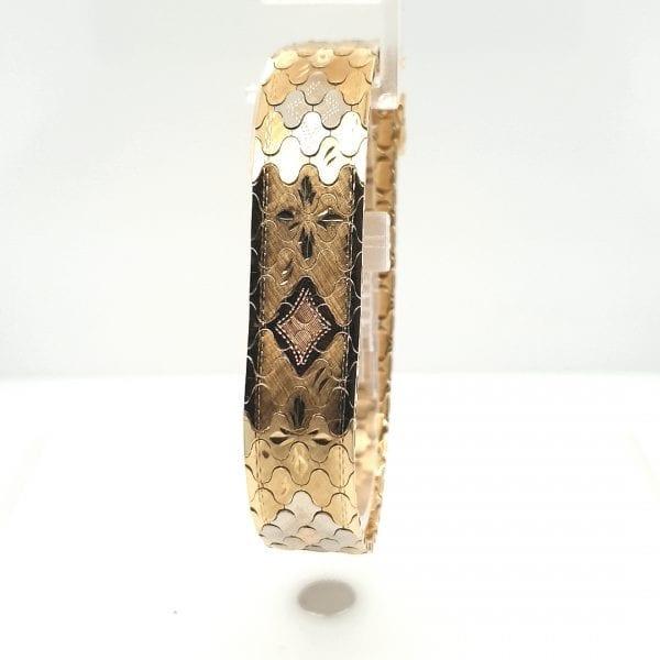 14 karaat gouden armband vintage occasion juwelier den haag