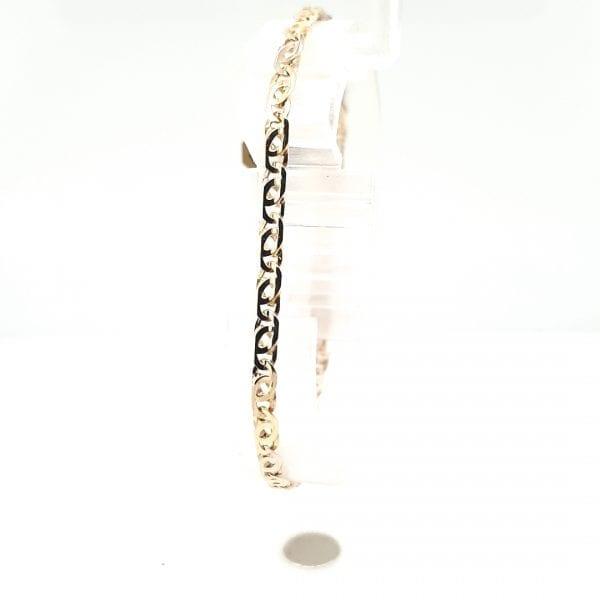 14 karaat gouden schakel armband vintage tweede hands occasion juwelier den haag