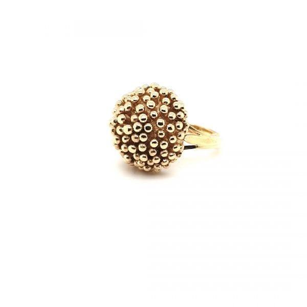 14 karaat gouden dames ring vintage tweede hands occasion juwelier den haag