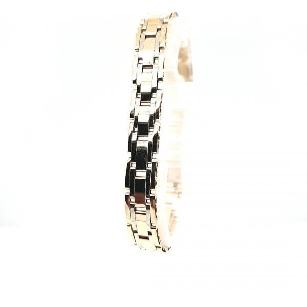 14 karaat gouden armband type rolex occasion juwelier den haag