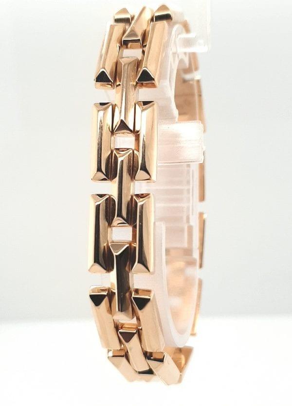 18 karaat gouden armband vintage tweede hands juwelier den haag voorburg leidschendam