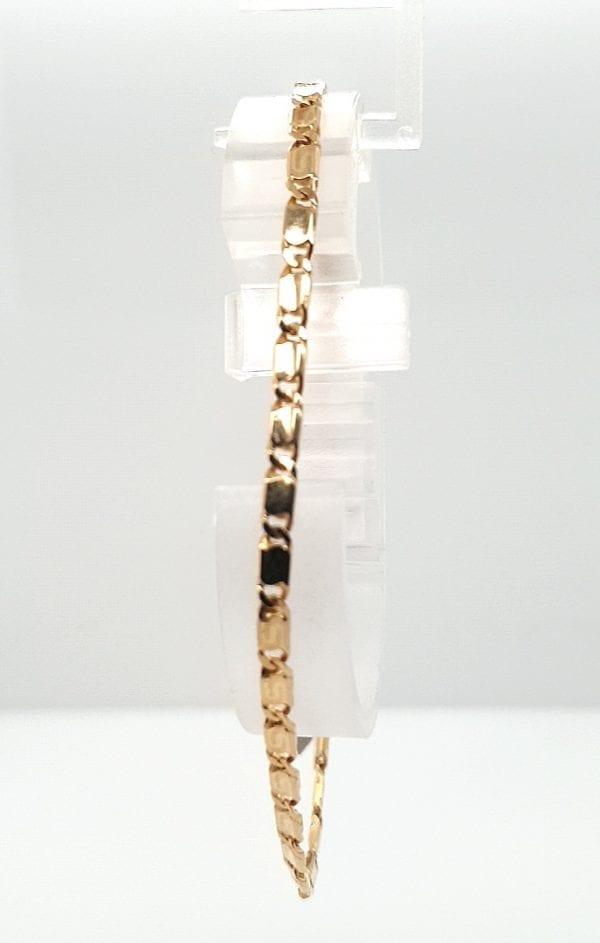 14 karaat fantasie armband occasion tweede hands oud goud juwelier den haag