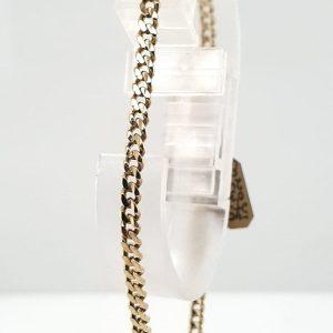 14 karaat gouden heren armband occasion vintage tweede hands den haag juwelier oud goud