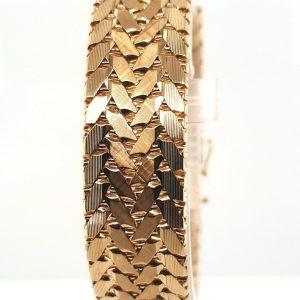 14 karaats gouden armband occasion juwelier den haag tweede hands oud goud second hand