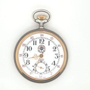 lasita patent railway zakhorloge occasion tweede hands vintage juwelier den haag